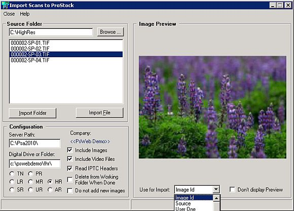 The Import Scan Feature